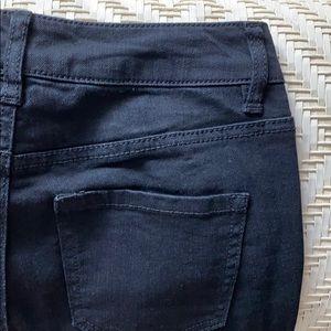 Black Daisy Skinny Jeans